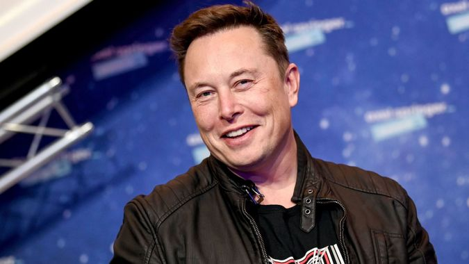Mandatory Credit: Photo by BRITTA PEDERSEN/POOL/EPA-EFE/Shutterstock (11088639k)SpaceX owner and Tesla CEO Elon Musk arrives on the red carpet for the Axel Springer award, in Berlin, Germany, 01 December 2020.