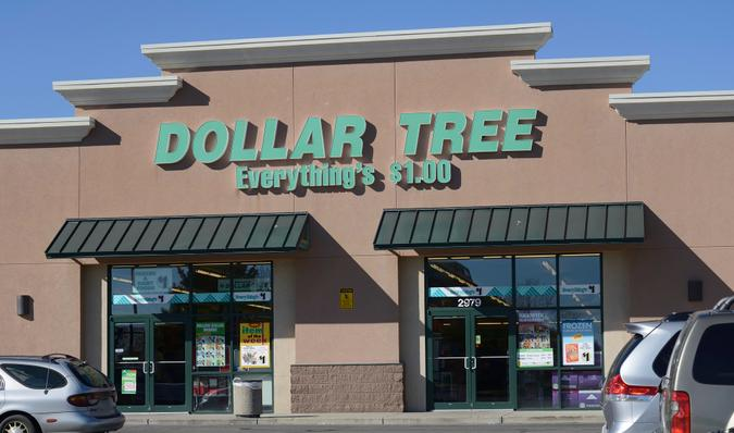 Loveland, Colorado, USA - October 27, 2013: The Dollar Tree location in Loveland.