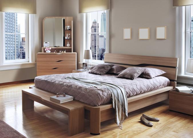 cozy bedroom in New York City.