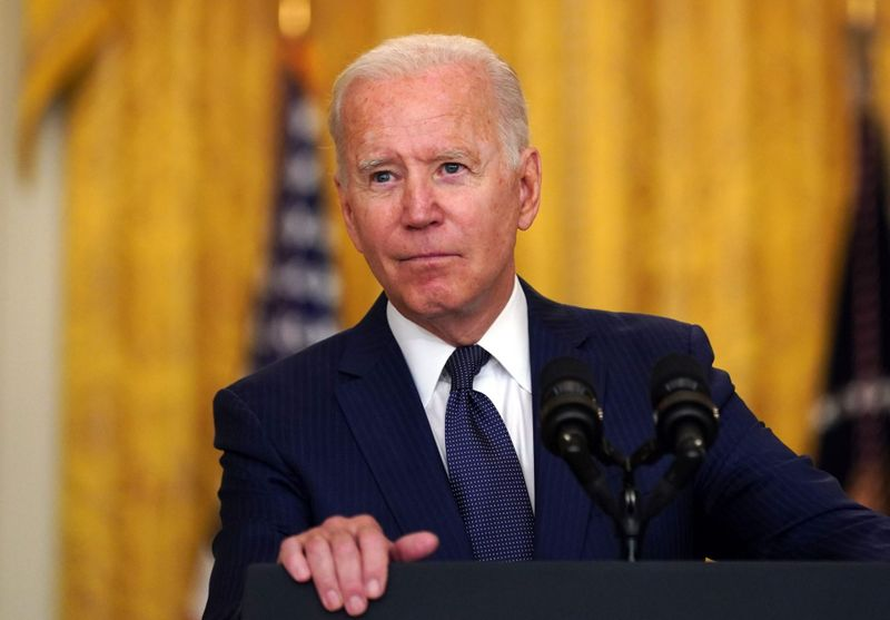 Mandatory Credit: Photo by Stefani Reynolds/UPI/Shutterstock (12372275r)United States President Joe Biden delivers remarks on the terror attack that killed and wounded U.