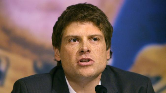 Mandatory Credit: Photo by Maurizio Gambarini/EPA/Shutterstock (8188524e)German Jan Ullrich Announces His Retirement From Professional Cycling During a Press Conference in a Hotel in Hamburg Germany Monday 26 February 2007 Former Tour De France Winner and Olympic Gold Medalist Ullrich Has Announced His Retirement From Cycling at the Age of 33 Ullrich who is Alleged Having Been Implicated in the Operacion Puerto Blood Doping Scandal Denied During a Press Conferene in Hamburg Having Any Links to Eufemiano Fuentes the Spanish Doctor at the Heart of the Blood Doping Scandal Ullrich Confirmed He Will Work with Volksbank Next Season As 'An Adviser Publicity Figure and Representative ' Germany HamburgGermany Cycling Ullrich - Feb 2007.