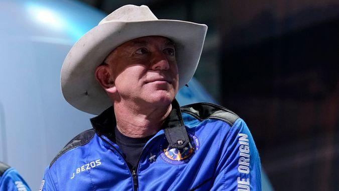 Blue Origin Bezos, Van Horn, United States - 20 Jul 2021