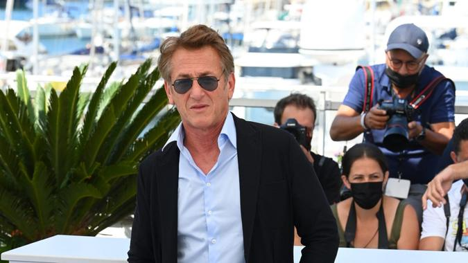 Mandatory Credit: Photo by David Fisher/Shutterstock (12204505ah)Sean Penn'Flag Day' photocall, 74th Cannes Film Festival, France - 11 Jul 2021.