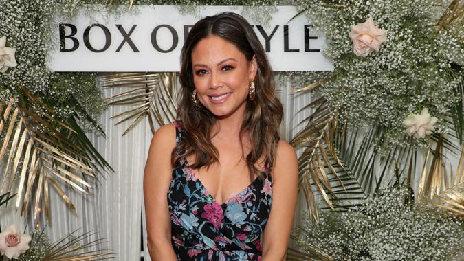 Mandatory Credit: Photo by Chelsea Lauren/Rachel Zoe/Shutterstock (10580350aq)EXCLUSIVE - Vanessa MinnilloRachel Zoe Collection and Box of Style Spring Event with Tanqueray, Los Angeles, USA - 11 Mar 2020 .