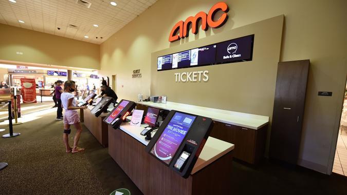 AMC Wayne 14 movie theaters. New Jersey, USA - 04 Sep 2020