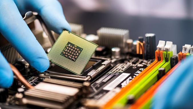 Computer, Service Occupation, CPU, Control, Education.