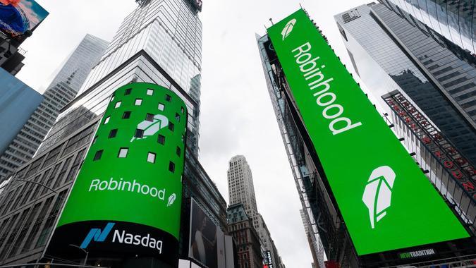 Robinhood IPO, New York, United States - 29 Jul 2021
