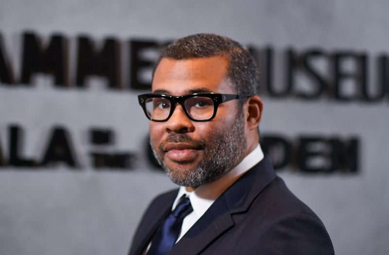 Mandatory Credit: Photo by Rob Latour/Shutterstock (10441198aw)Jordan Peele17th Annual Gala in the Garden, Arrivals, Hammer Museum, Los Angeles, USA - 12 Oct 2019.