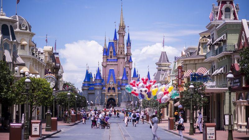 Disney World Stock, Lake Buena Vista, United States - 12 Aug 2020