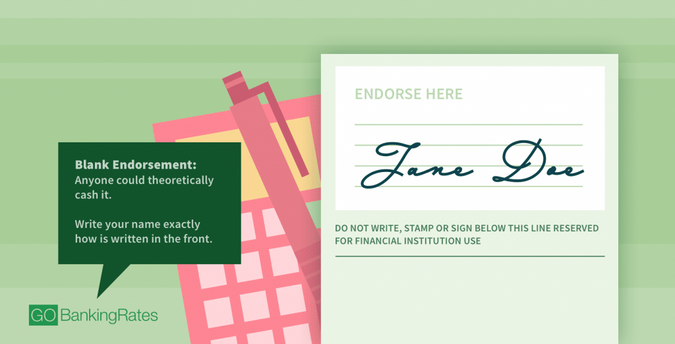 How To Endorse A Blank Check