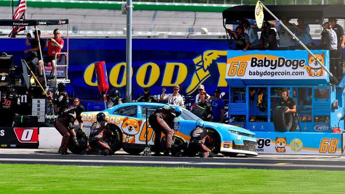NASCAR XFINITY 2021: Atlanta II, Atlanta Motor Speedway, United States of America - 10 Jul 2021