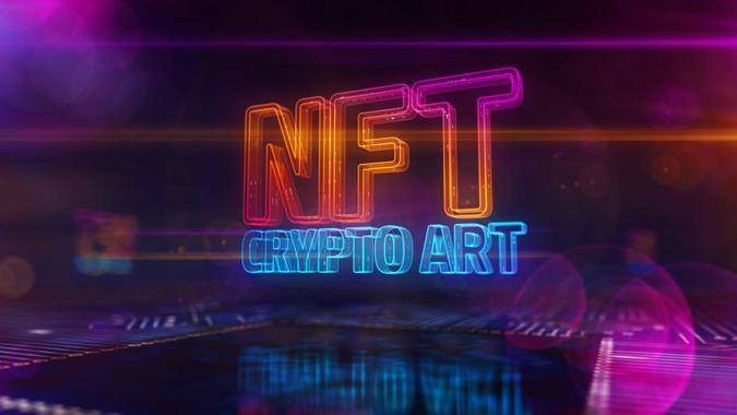 crypto art nft 3d