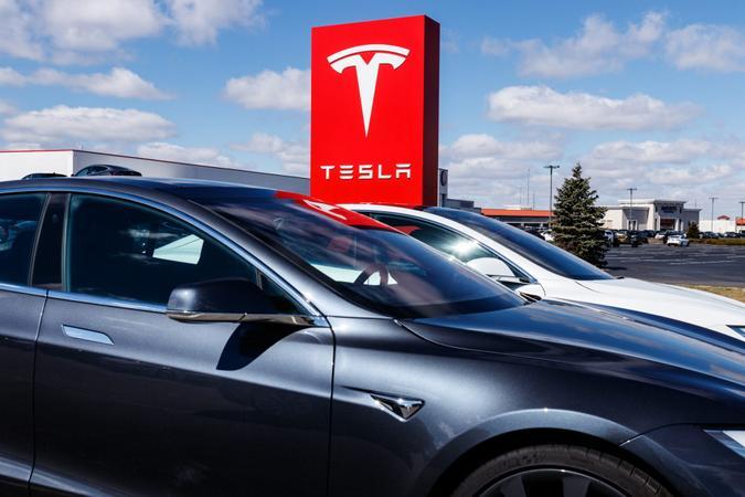 Indianapolis - Circa March 2019: Tesla Service Center.