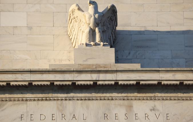 Washington DC, USA - February 27, 2011: The Federal Reserve System headquarters (Eccles Building) in Washington DC.