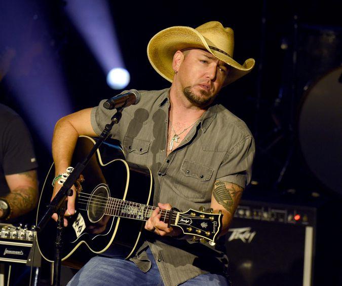 Mandatory Credit: Photo by AFF-USA/Shutterstock (10416976ae)Jason AldeanNashville Songwriter Awards 2019, Show, Nashville, USA - 17 Sep 2019.