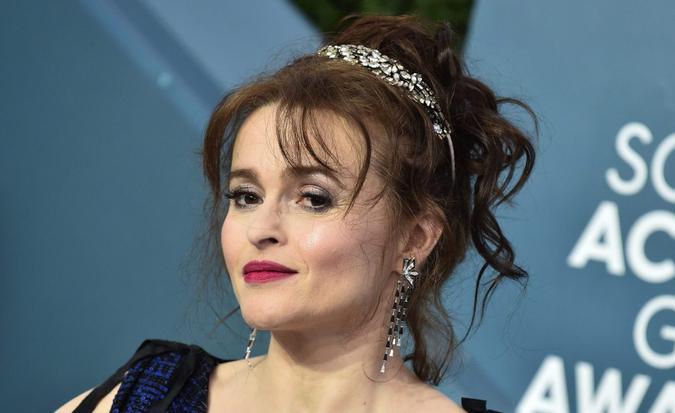 Mandatory Credit: Photo by AFF-USA/Shutterstock (10530660aw)Helena Bonham Carter26th Annual Screen Actors Guild Awards, Arrivals, Shrine Auditorium, Los Angeles, USA - 19 Jan 2020.