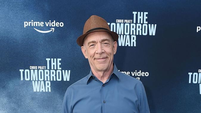 Mandatory Credit: Photo by Jordan Strauss/January Images/Shutterstock (12191382g)JK SimmonsAmazon Studios 'The Tomorrow War' film premiere, Los Angeles, California, USA - 30 Jun 2021.