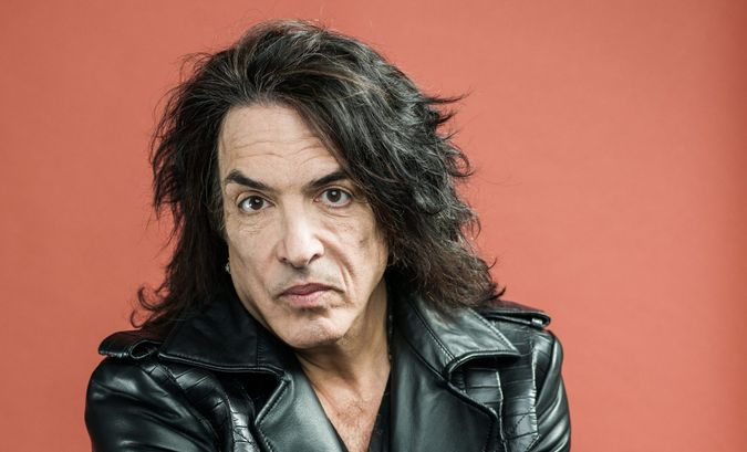 """Mandatory Credit: Photo by Scott Gries/Invision/AP/Shutterstock (9059332i)Best known as guitarist and frontman of the band """"Kiss,"""" musician Paul Stanley poses for a portrait, on in New YorkPaul Stanley Portrait Session, New York, USA."""