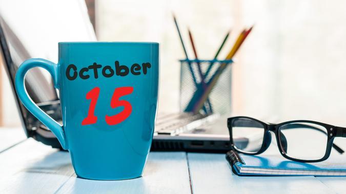 October 15th.