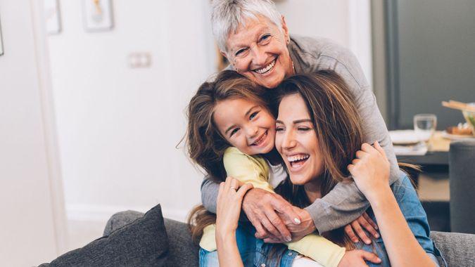 Three Generation women.
