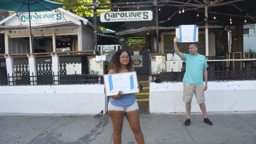 Businesses and residents prepare for coronavirus in Key West.