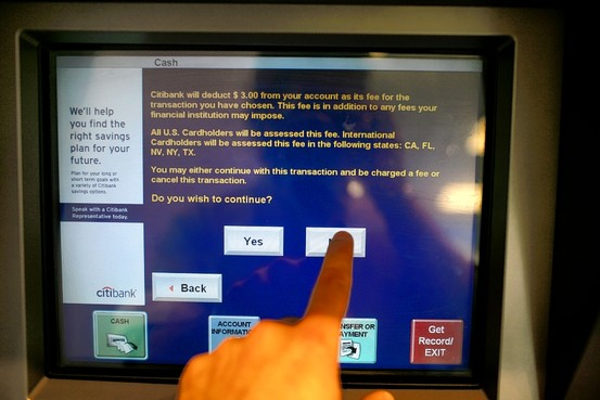 You Can Thank Lawsuit-Happy Banking Customers for Obama's New ATM Fee Disclosure Law