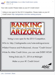 GOBankingRates Congratulates Altier Credit Union for Its Nomination as a Top Ten Arizona Credit Union