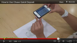 Video: How to Use Chase Quick Deposit