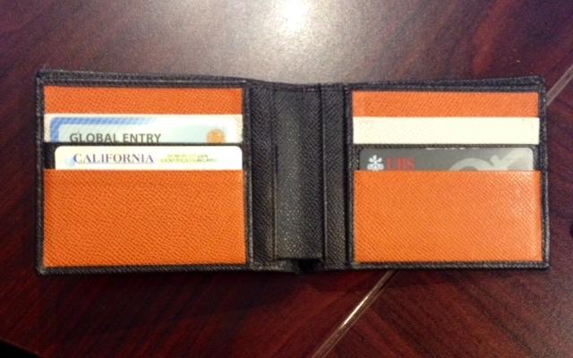 Deepak Chopra wallet