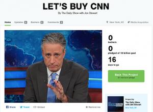 Jon Stewart Kickstarter
