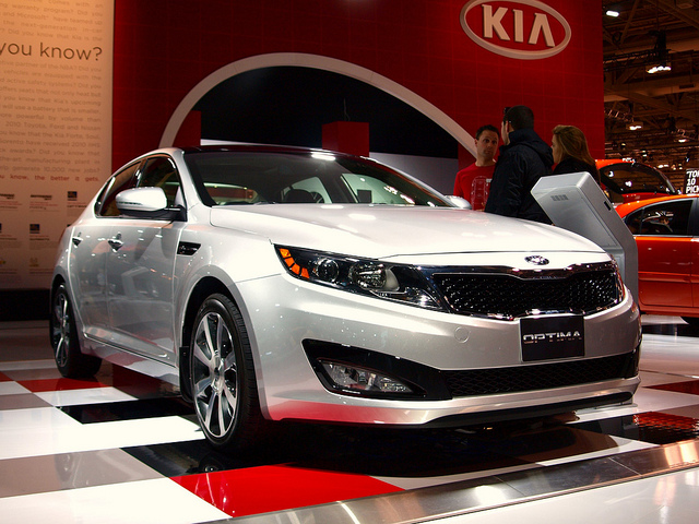 Kia Optima - fuel efficient cars