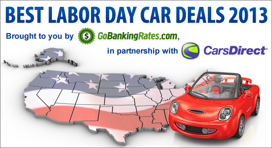 2013 Guide to the Best Labor Day Car Deals