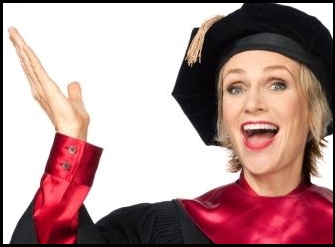 Why Does Jane Lynch Care So Much about Student Loan Debt?