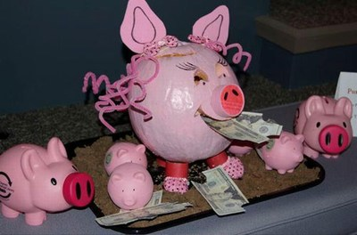 Piggy Bank pumpkin
