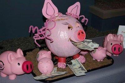 Piggy Bank pumpkin