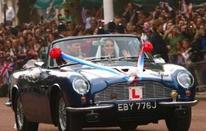 Prince Charles Aston Martin