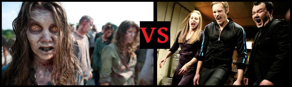 True Blood The Walking Dead: Vampires versus Zombies