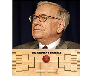 You're 53 Billion Times More Likely to Win The Powerball Than Buffett's Bracket