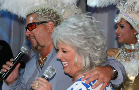 Celeb Chefs Paula Deen, Guy Fieri Share Top Ways to Save Money on Christmas Dinner