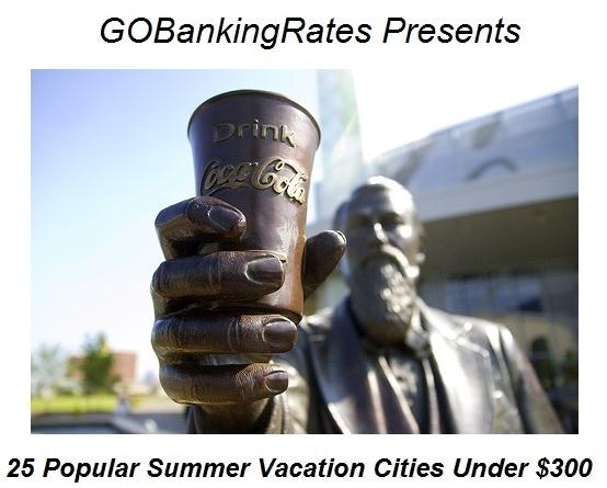 Atlanta Ranks No. 6 on Affordable Summer Vacation Destinations