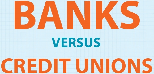 What's the Difference Between Banks and Credit Unions? (Infographic)