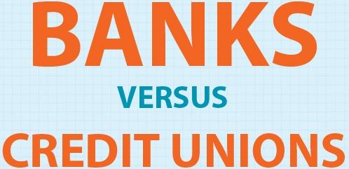 banks vs credit union thumb