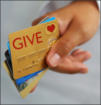Charitable Contribution? Charge it.