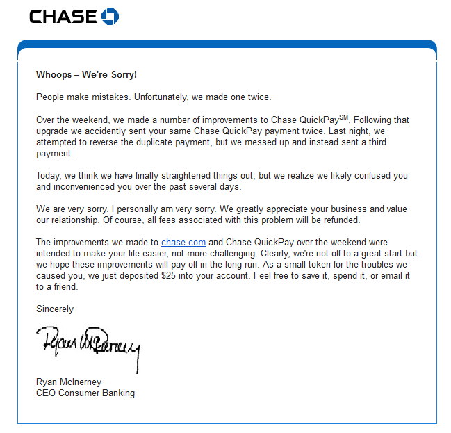 chase online quickpay