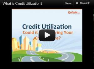 credit utilization ratio