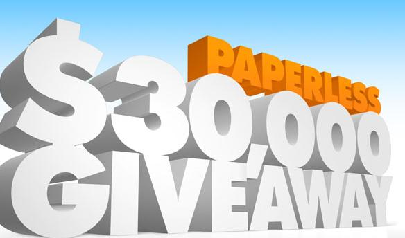 Discover Paperless $30,000 Giveaway Contest!