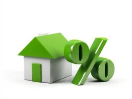 House and percent symbol.