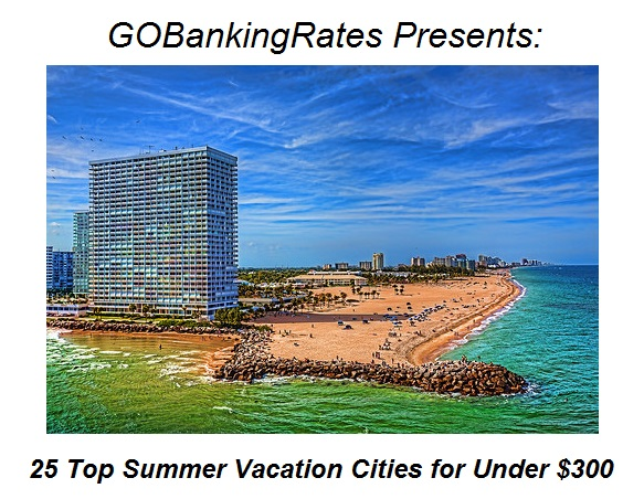 Fort Lauderdale Ranks No. 3 for Most Affordable Summer Destinations