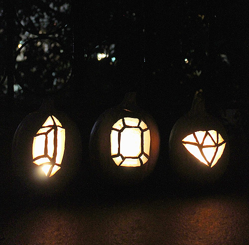 gem pumpkins