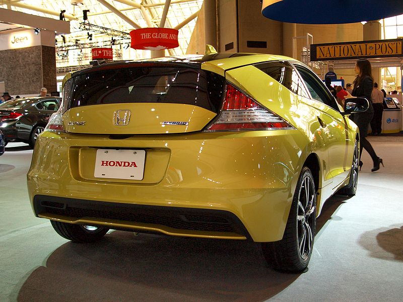 honda cr-z - most fuel efficient cars